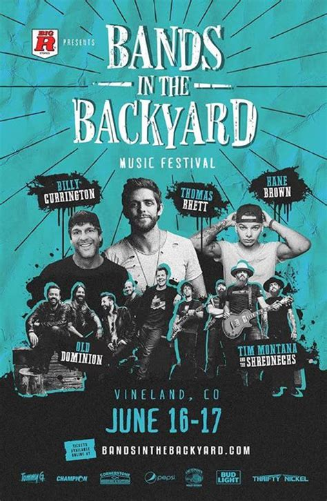 bands in the backyard tickets bands in the backyard music festival 2017 colorado tickets