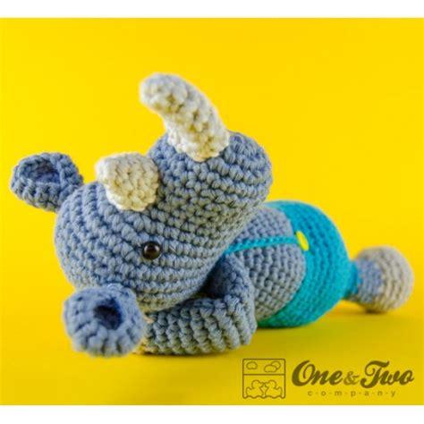 amigurumi rhino pattern max the rhino amigurumi crochet pattern