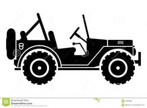 jeep silhouette royalty free stock image   image 33699986