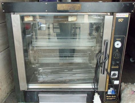 Oven Multi King secondhand catering equipment rotisseries barbeque