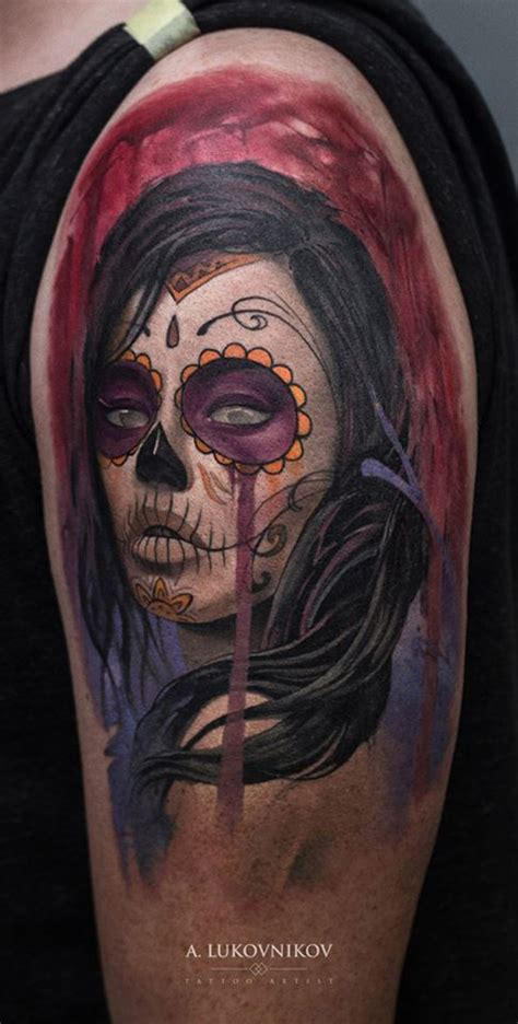 tattoo ideas day of the dead day of the dead sleeve best tattoo design ideas