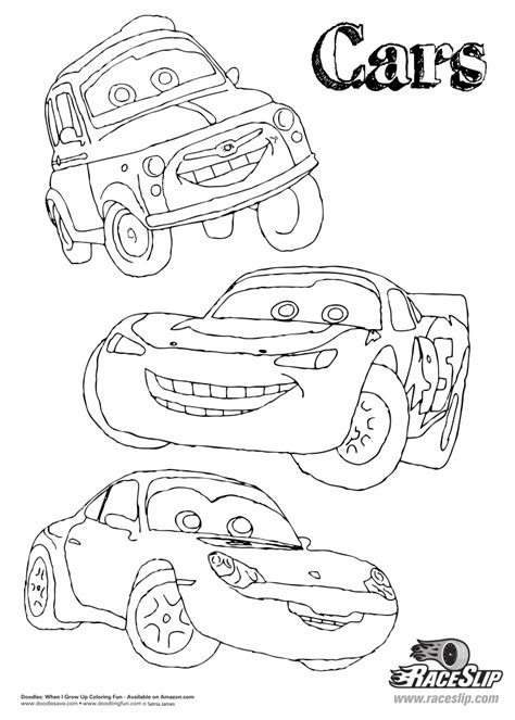 doodles ave cars coloring sheet doodles ave