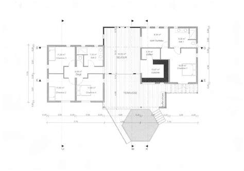 plan de maison 3 chambres salon plan de maison 3 chambres salon