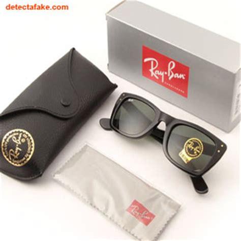spot fake ray ban sunglasses  steps