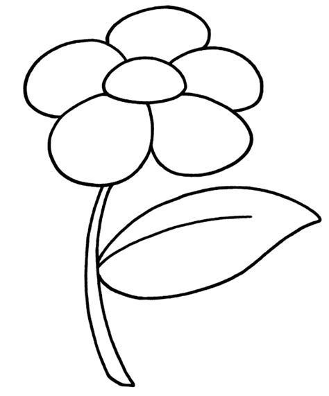 fiore disegno disegno di fiorellino da colorare quotes