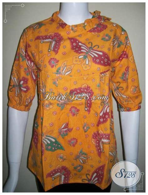Baju Batik Korset Tali Model Jakarta baju batik model tali dan kancing di bahu trendy dan nyaman bls230 m toko batik 2018
