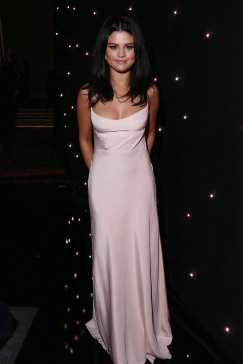 Gomez Dress selena gomez in pink dress celebzz celebzz