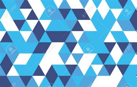 geometric pattern with triangle blue geometric patterns