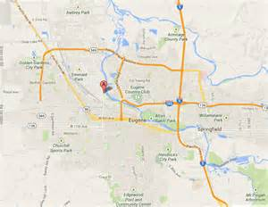 map of eugene oregon radiator repair radiator repair eugene oregon