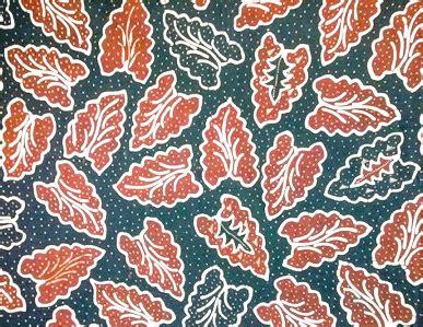 Kain Batik Cap Medan Biru ragam makna filosofis motif batik banten tempo lagu