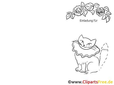 Weihnachten Mit Kindern Basteln 5978 by Katze Klappkarte Einladung Gratis Basteln