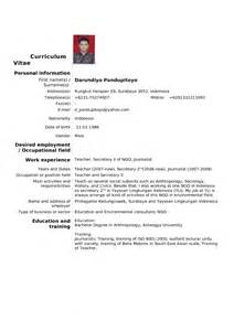 Resume European Format Jobbs 248 Knad Mygreatgoals