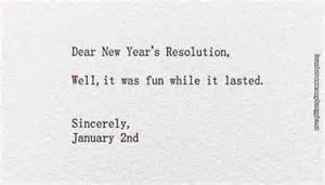 dear new year s resolution very funny pics