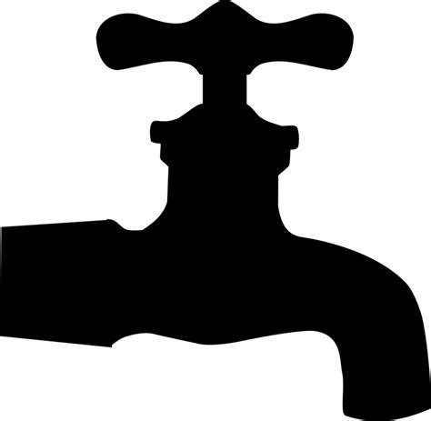 Filter Penyaring Keran Kran Air Transparent free vector graphic faucet silhouette isolated tap
