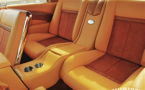 Custom Leather Upholstery For Cars by 04 1964 Chevrolet Impala Saddle Leather Interior Jpg