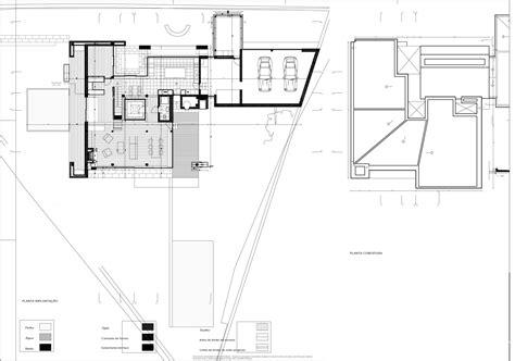 Building Site Plan galeria de domus impluvium bernardo rodrigues 18