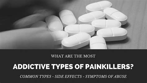 How To Detox From Painkillers At Home by Most Addictive Types Of Painkillers Do You What They