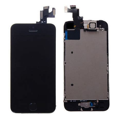 Lcd Touchscreen Iphone 5s black touch screen digitizer lcd display replacement assembly for iphone 5s ebay
