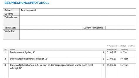Word Vorlage Register 1 20 protokoll vorlage word alle meine vorlagen de
