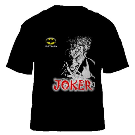 T Shirt Joker 3 3 Kaos Joker joker collections t shirts design