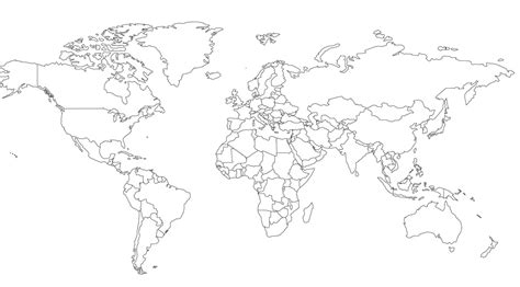 blank world map world map blank white images word map images and