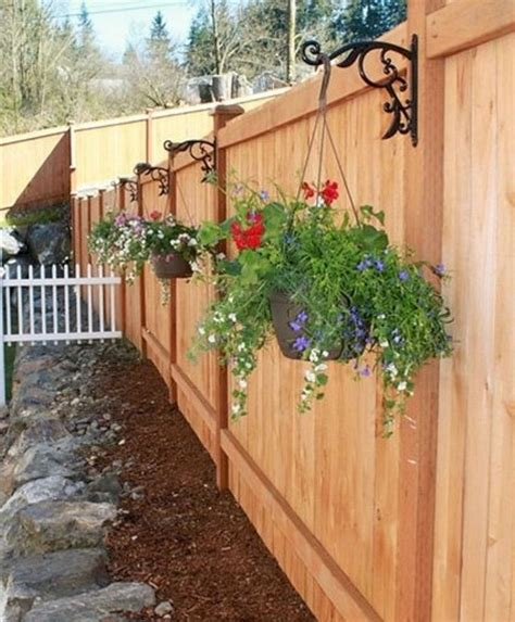 backyard fence decorating ideas 1041 best fence ideas images on pinterest privacy fences