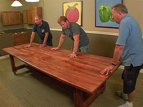 how to build dining room table time