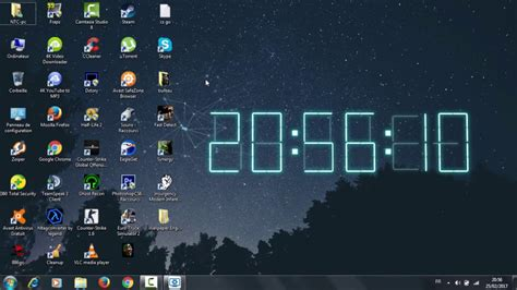 live clock themes software photo collection live clock wallpaper for desktop