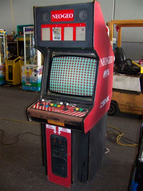 Neogeo Cabinet by Neo Geo 4 Slot Snk Cabinet Arcade Item Is In Used