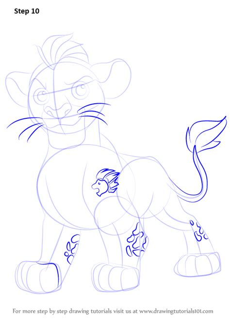 doodle drawings how to learn how to draw kion from the guard the guard