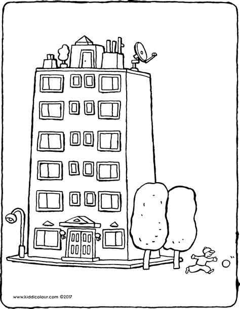 apartment coloring page swanston apartment academic building coloring pages