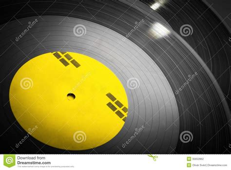 Black Records Black Vinyl Records Stacked Up Stock Photography Image 35652862