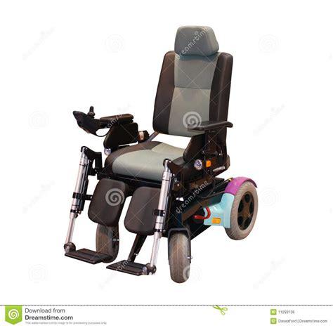 sedia a rotelle motorizzata sedia a rotelle elettrica immagine stock libera da