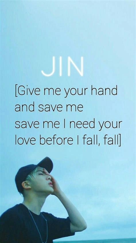 bts bangtan boys quote pin by mbb on bts pinterest bts kpop and bts jin