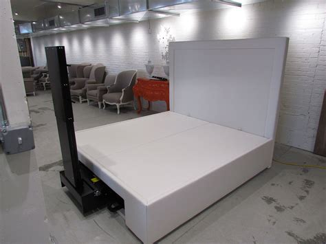 Custom Beds Custom Platform Bed Made To Hold Custom Tv Lift
