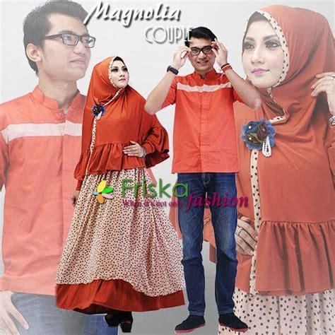Baju Muslim Pasangan Azzura 335 34 Dan 335 35 magnolia bata baju muslim gamis modern