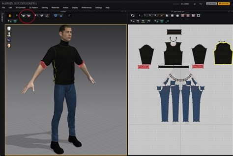 clothes pattern making software create realistic clothing with updated 3d design tool