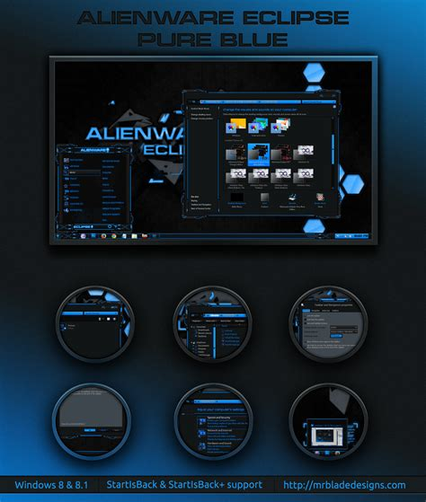 eclipse theme blue alienware eclipse pure blue win 8 by mr blade on deviantart
