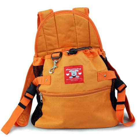 puppy pouch carrier puppy pet front style pouch carrier backpack orange ebay