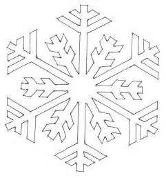 easy snowflake template pin coloring page snowflake img 6117 on