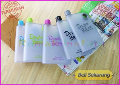 Botol Do Your Best Jual Botol Minum Pipih Do Your Best Be Happy