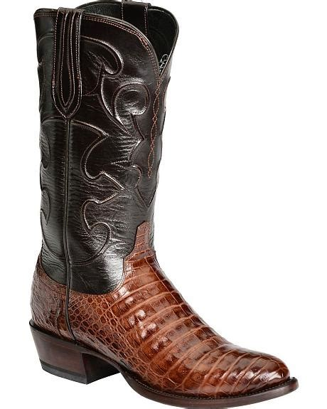 Handcrafted Cowboy Boots - lucchese handcrafted 1883 caiman belly cowboy boots