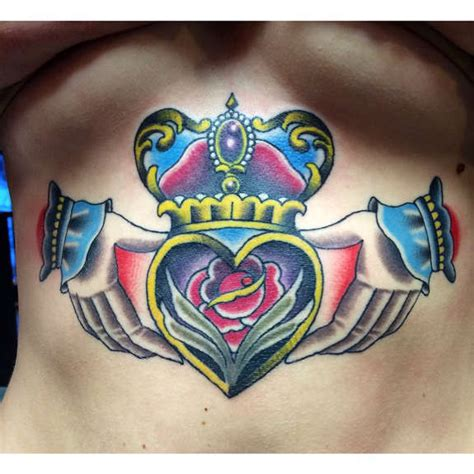 claddagh tattoo designs 19 irresistible claddagh tattoos and designs