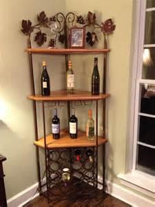 Corner Cabinet Wine Rack Custom Corner Wine Rack Home