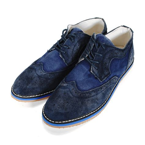 s casual business denim and leather shoes alex nld