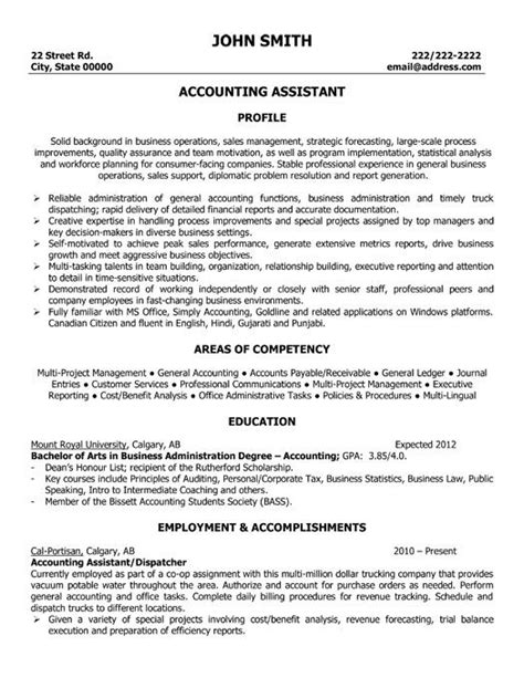 resume format accountant assistant in word 1000 images about best accounting resume templates sles on entry level