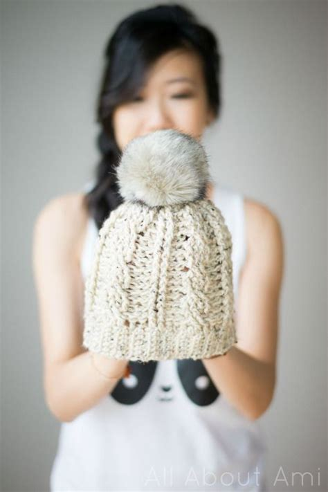 crochet parfait making your own crochet or knitting charts crochet this cute cabled beanie by all about ami make it