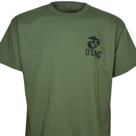 usmc od green t shirt