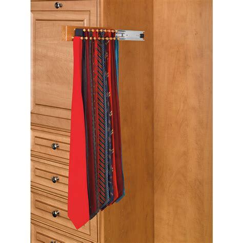 shop rev a shelf side mount tie rack at lowes