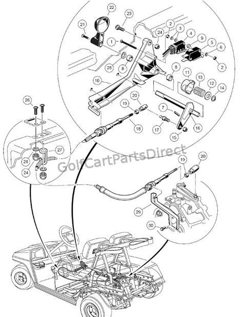Forward/Reverse Switch – Gas - Club Car parts & accessories